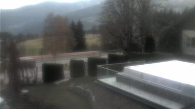 Vista de cámara web de luz diurna desde Sankt Rupert am Kulm: Webcam in Ramsau am Dachstein mit Blick auf das Guttenberghaus und d