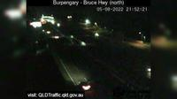 Caboolture: Bruce Highway - Burpengary, Station Road interchange (looking North) - Aktuell