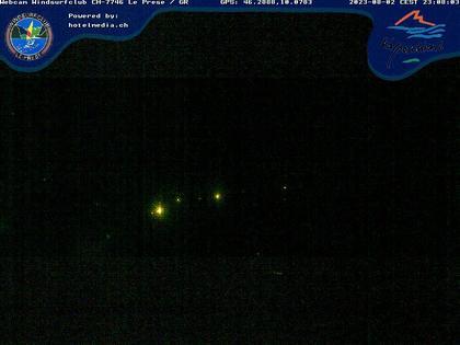 Le Prese: Webcam Lago di POSCHIAVO