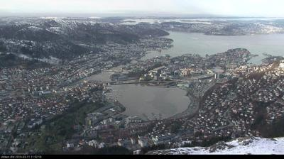 Webcam Kronstad: Ulriken vest