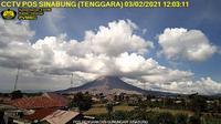Sigarang Garang: Mount Sinabung - Overdag