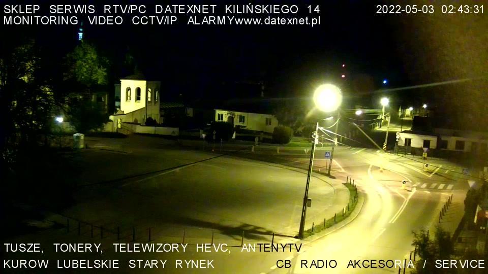 Webcam Kurów: Stary Rynek