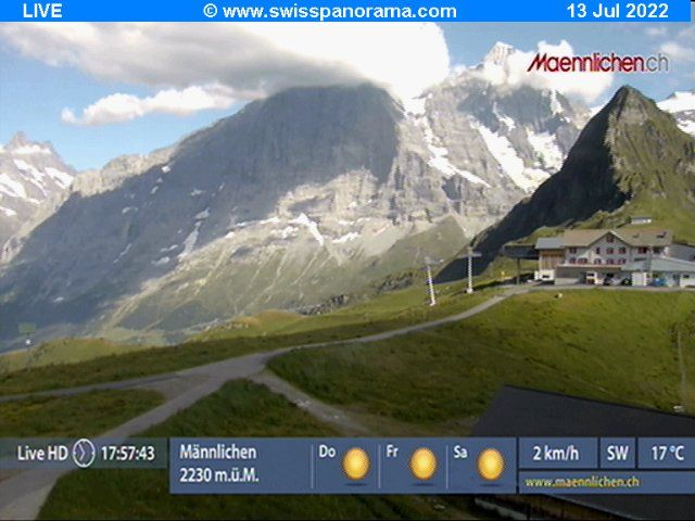 Grindelwald: Männlichen