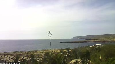 Webcam Lampedusa: Calamadonna Club Hotel & Resort - vista