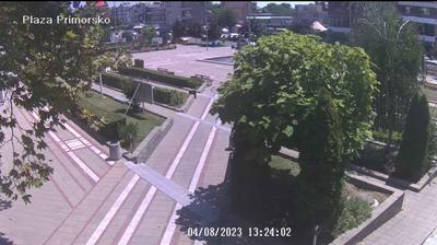 Daylight webcam view from Приморско › South: Primorsko − Burgas