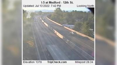 Thumbnail of Medford webcam at 2:57, May 7