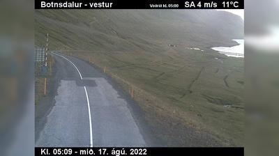 Current or last view from Sudavik: Súðavíkurhlíð