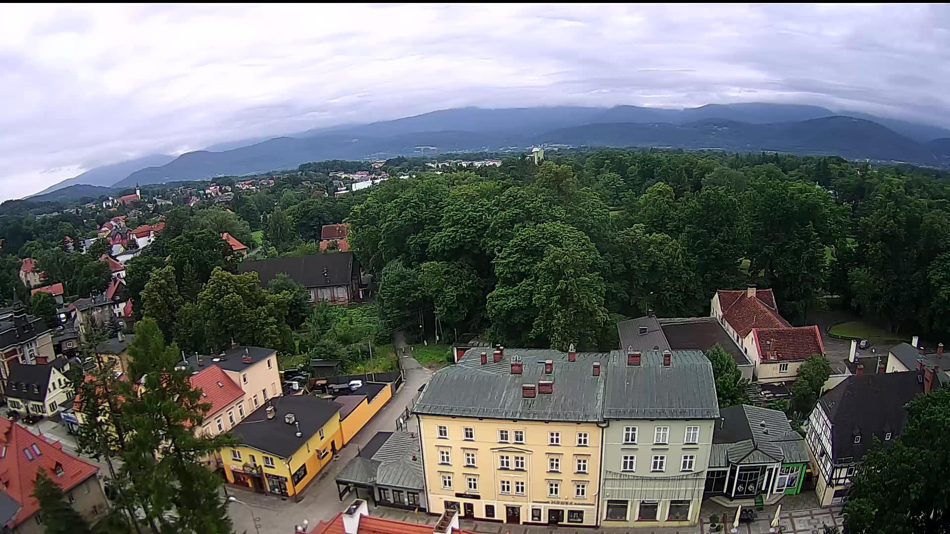 Webcam Cieplice Śląskie Zdrój: plac Piastowski