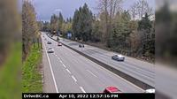 West Vancouver > East: , Hwy  at Hadden Drive ramp for Taylor Way, looking east - Dagtid