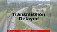 Delta > North: , Hwy A, at Hwy  interchange to Queensborough Connector, looking north - Recent