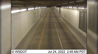 Seattle › North: SR  at MP .: NB Tunnel, North end
