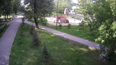 Иркутск - Иркутская область, Россия: Онлайн-камера в парке Победы в Иркутске