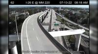 Charleston: I- E. @ MM  (Ravenel Bridge Entrance) - Day time