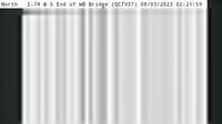Moline: QC - I- @ S End of WB Bridge () - Actuales