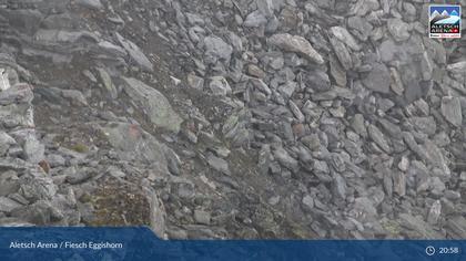 Fiescheralp: Fiesch, Aletsch Arena - Bergstation Eggishorn, Wetterstation