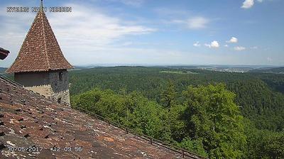 Kyburg: Schloss - Blick nach Norden
