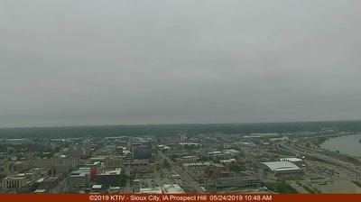 Webcam Covington (historical): KTIV NBC Sioux City SkyCam