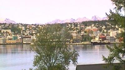 Daylight webcam view from Hungeren: Weather Live in Tromso
