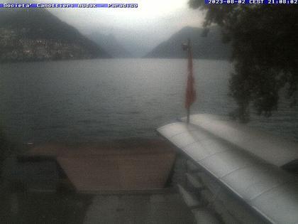 Paradiso: Lago di Lugano, Società Canottieri Audax di