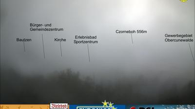 Vue webcam de jour à partir de Bieleboh: Cunewalde