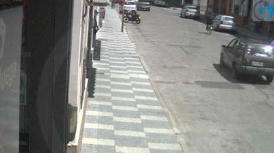 Vista de cámara web de luz diurna desde Paysandú › West: 18 de julio y Vizconde