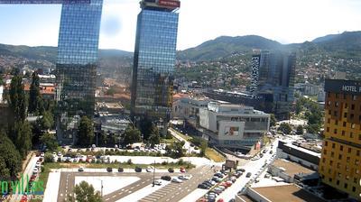 Vue webcam de jour à partir de Sarajevo