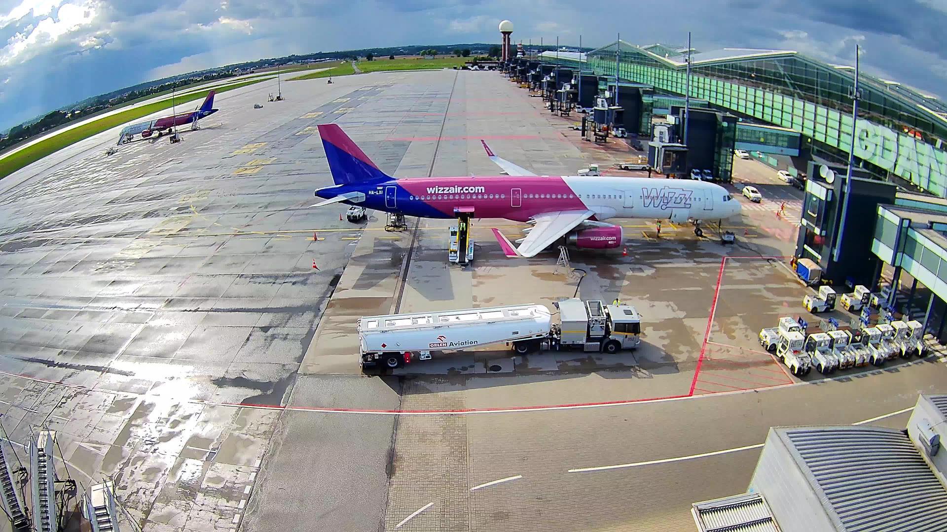 Webcam Gdańsk: Lech Walesa Airport