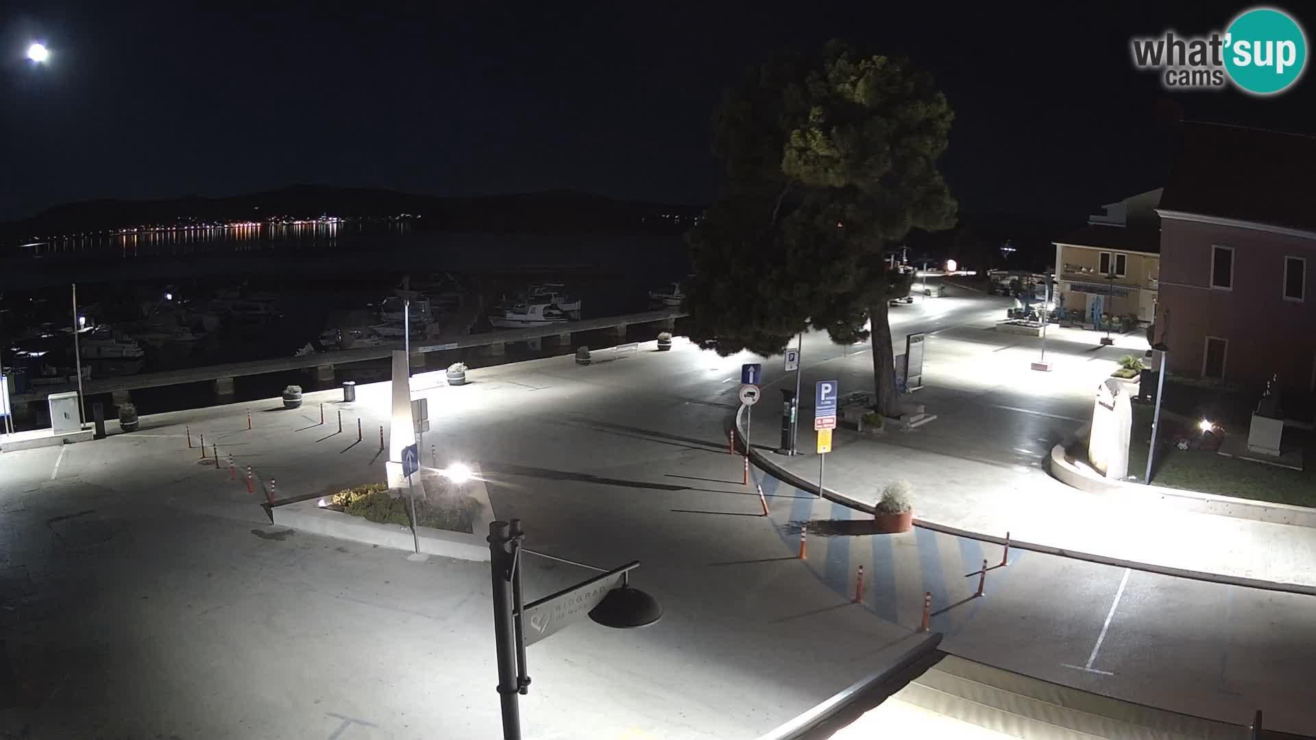 Webcam Biograd na Moru: city square