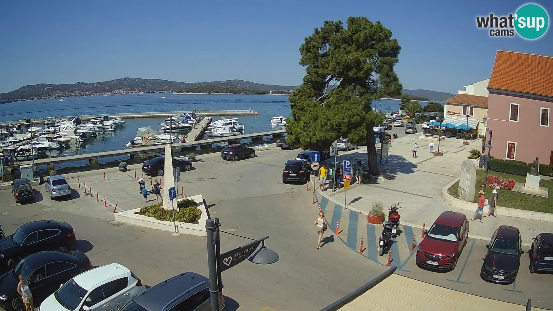 Webkamera Biograd na Moru: city square