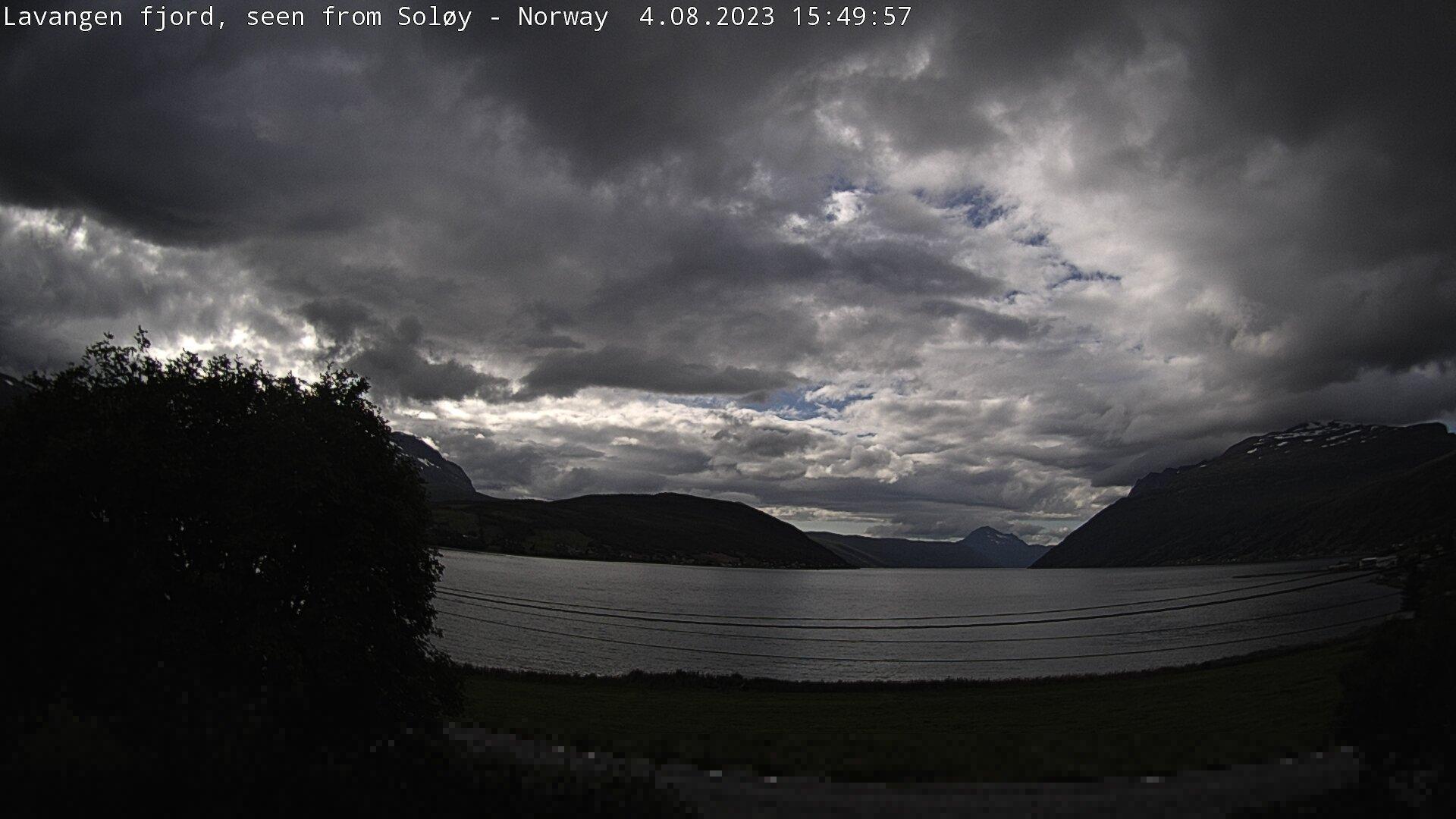 Webcam Soløy › West: Lavangen − Norwegian Sea