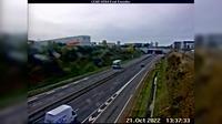 Avrille: Angers-Autoroute A - km , Angers Nord, orientée vers Nantes - El día