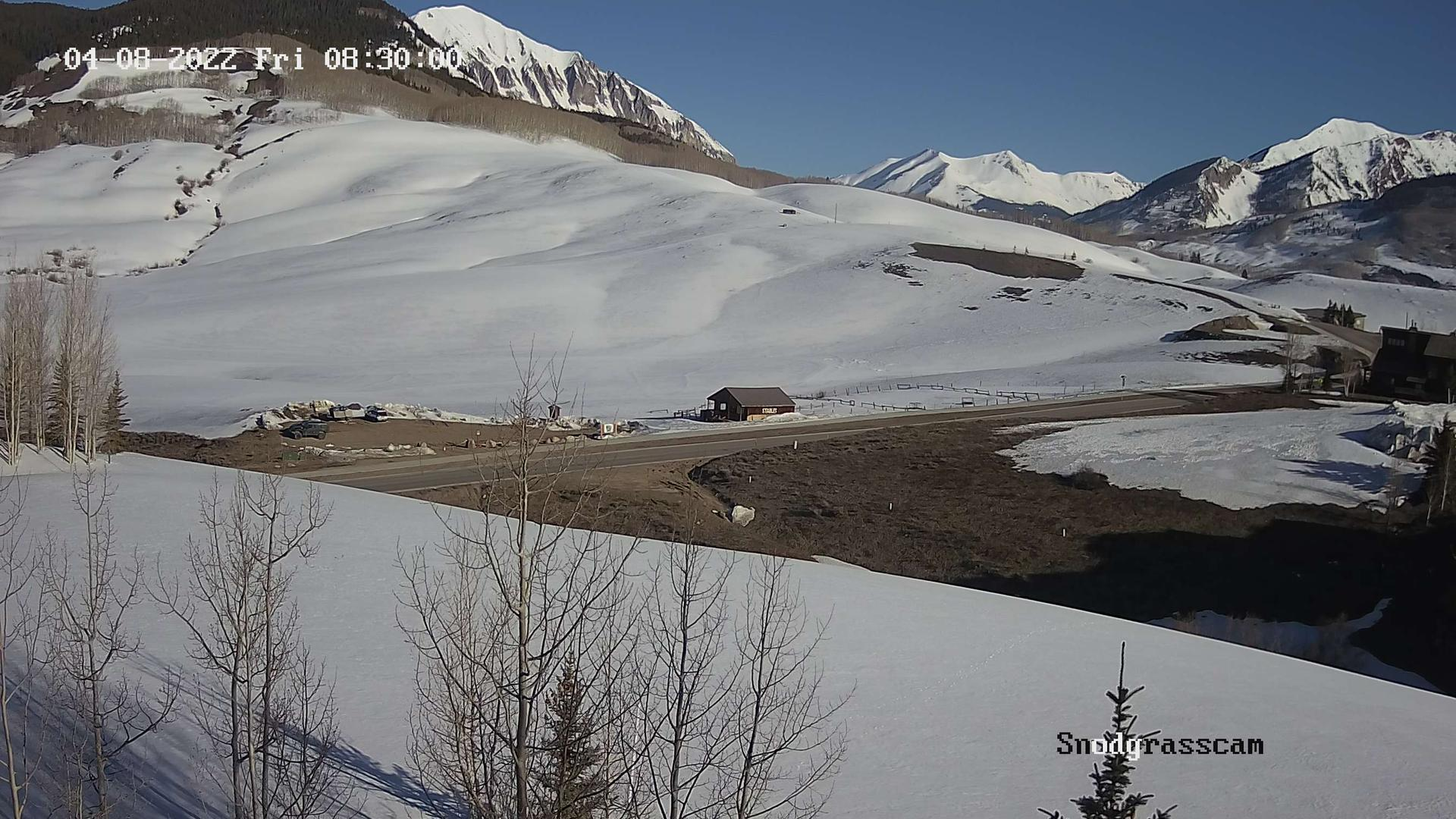 Webcam Mount Crested Butte › North: Snodgrass Mountain