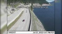 Hyak: I- at MP .: Old Keechelus Snow Shed - Recent