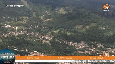 Vista de cámara web de luz diurna desde Sarajevo