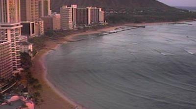 Vista actual o última desde Honolulu: Beach