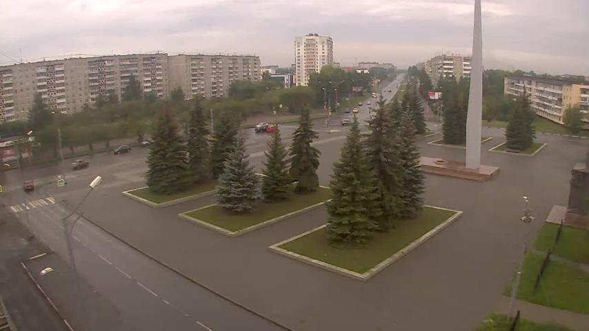 Webcam Sotsgorod: Площадь Славы, Нижний Тагил