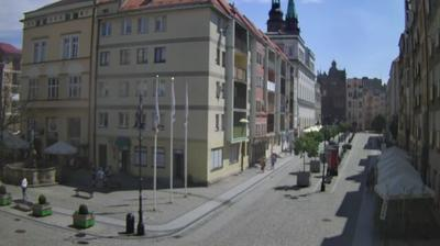 Daylight webcam view from Legnica: Legnicki Rynek 2 www − eu