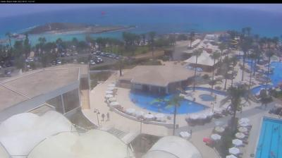 Daylight webcam view from Ayia Napa: Adams Beach Hotel