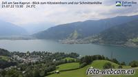Zell am See: Kaprun - Blick zum Kitzsteinhorn und zur Schmittenh�he - Overdag