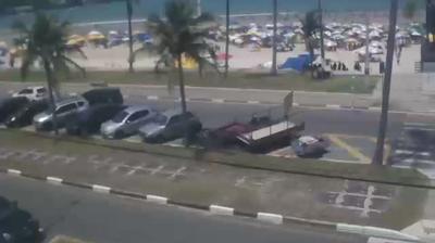 Webkamera Guarujá: Praia da Enseada − Vista