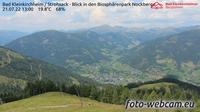 Bad Kleinkirchheim: Strohsack - Blick in den Biosph�renpark Nockberge - Day time