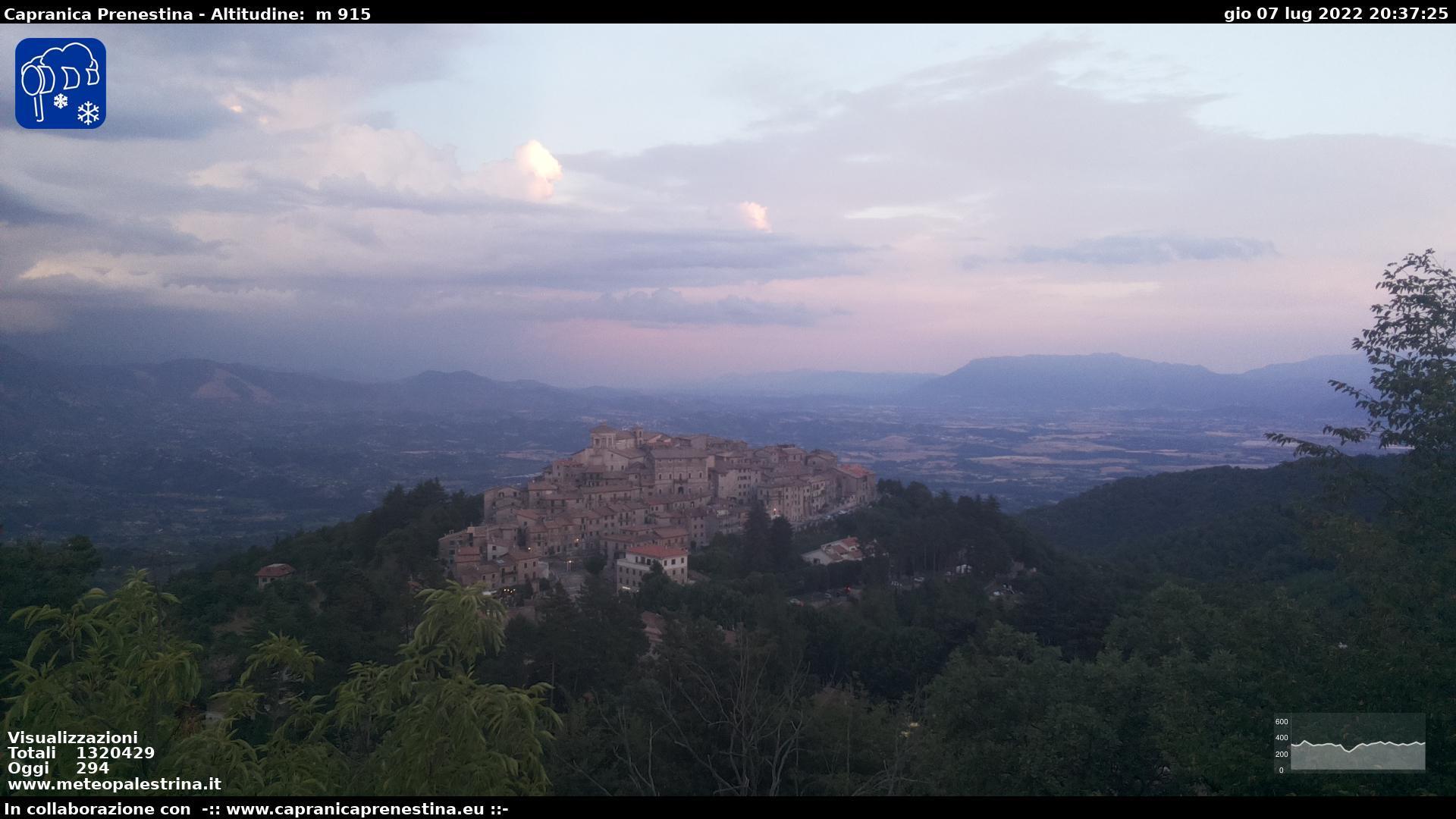 Webcam Capranica Prenestina
