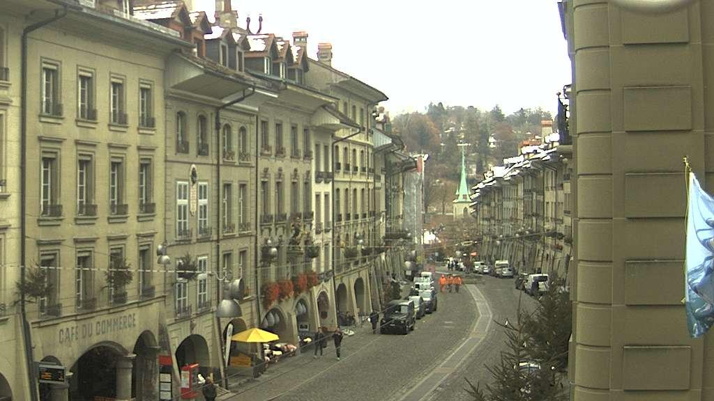 Webcam Bern: Berne − Nydeggkirche