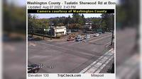Tualatin: Washington County - Sherwood Rd at Boones Ferry Rd - Recent