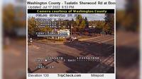 Tualatin: Washington County - Sherwood Rd at Boones Ferry Rd - Current