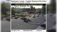 Tualatin: Washington County - Sherwood Rd at Boones Ferry Rd - Day time