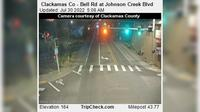 Rivergrove: Clackamas Co - Bell Rd at Johnson Creek Blvd - Actuales
