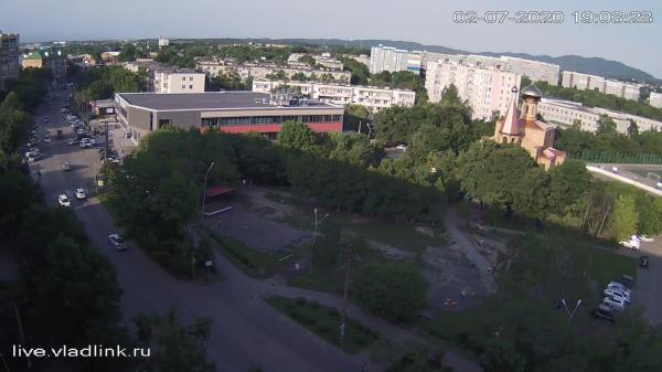 Webkamera Vladivostok: Кольцо Толстого