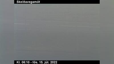 Current or last view from Borg in Grimsnes: Landvegamót