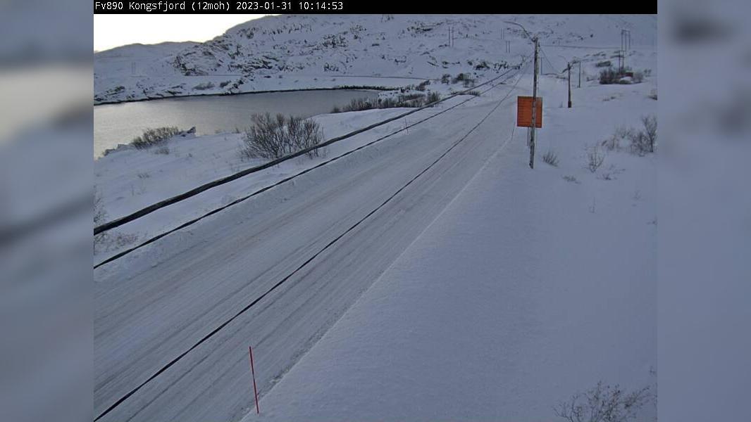 Webcam Kongsfjord: F890 − Retning mot Gednje